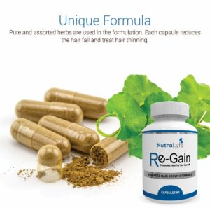 Regain Capsule For Hair Gain